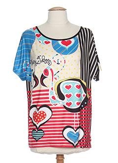 Produit-T-shirts / Tops-Femme-MISSING JOHNNY