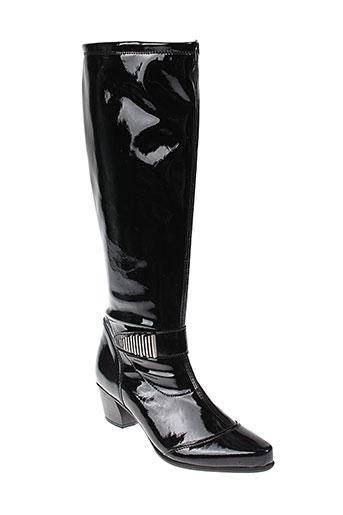 remonte bottes femme de couleur noir