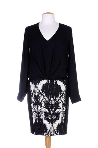 lauren vidal robes femme de couleur noir