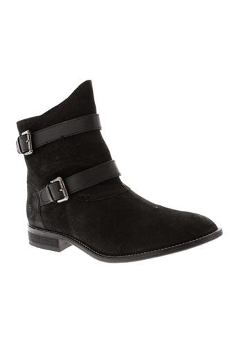 whooz boots femme de couleur noir
