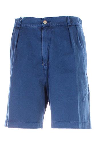 avirex shorts et 1 homme de couleur bleu