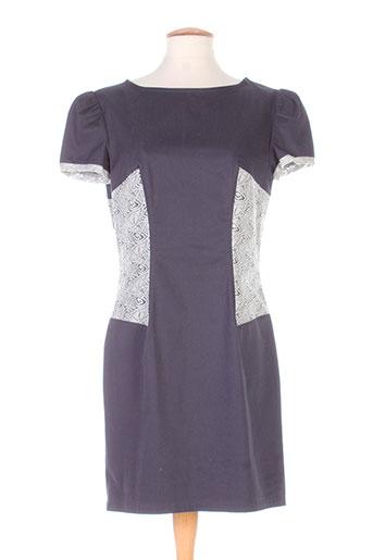 marie-lucie robes femme de couleur gris