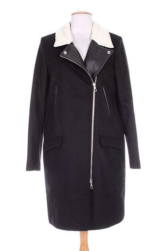 set manteaux femme de couleur noir