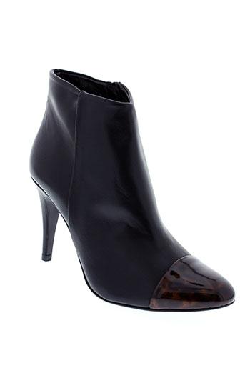 mellow et yellow boots femme de couleur noir