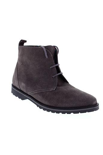 maria et jaen boots femme de couleur gris