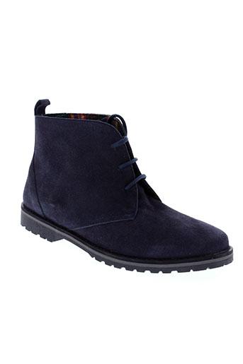 maria et jaen boots femme de couleur bleu