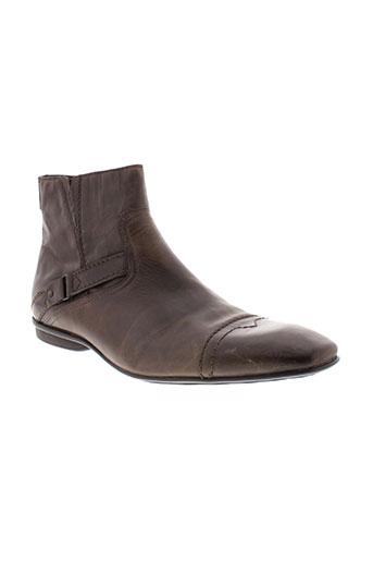 pratik boots homme de couleur marron