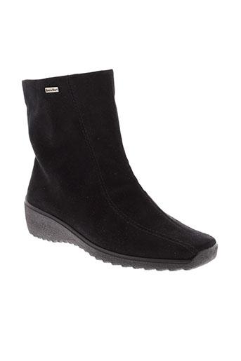 rohde boots femme de couleur noir