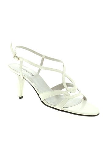 ohannes chaussures femme de couleur blanc