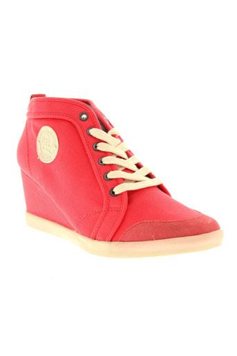 pepe jeans chaussures femme de couleur rose
