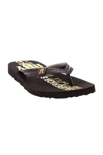 replay and sons chaussures garçon de couleur noir