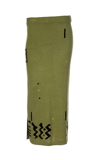 jacques ruc jupes femme de couleur vert