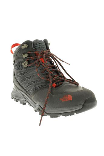 the et north et face boots homme de couleur gris