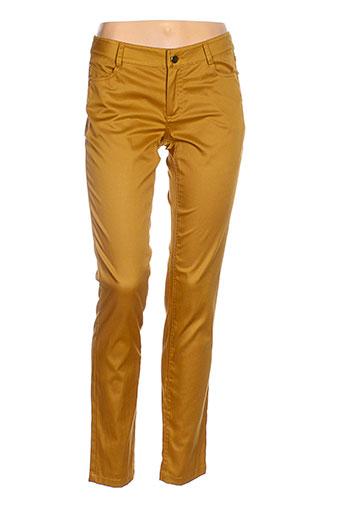 bleu blanc rouge pantalons femme de couleur jaune