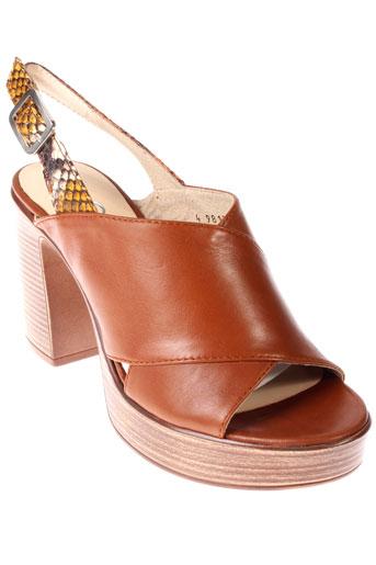 gadea sandales et nu et pieds femme de couleur marron
