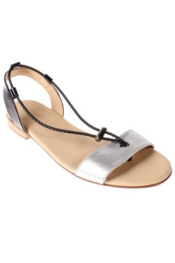 maurice manufacture chaussures femme de couleur gris