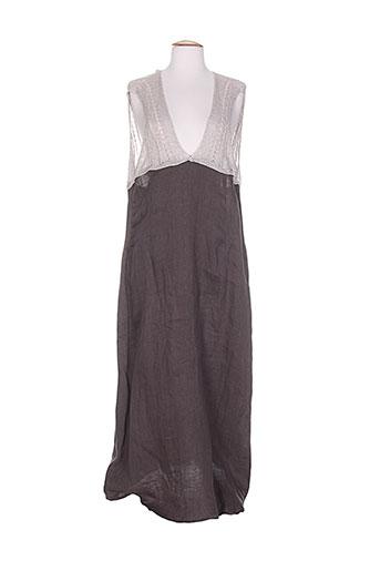 colour 5 power robes femme de couleur gris