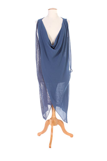 colour 5 power robes femme de couleur bleu