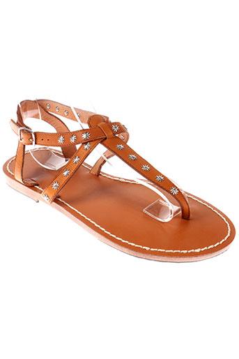 scotch EFFI_CHAR_1 soda chaussures femme de couleur marron