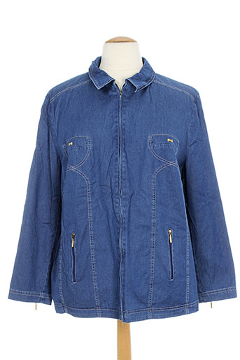 isabell vestes femme de couleur bleu