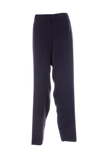 anne kelly pantalons femme de couleur bleu
