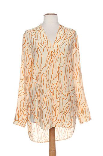 Chemisier manches longues orange BY MALENE BIRGER pour femme