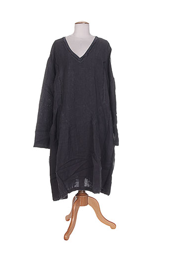 arthurio et lino robes et longues femme de couleur gris