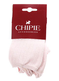Collants rose CHIPIE pour fille