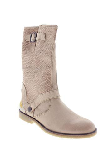 ikks chaussures femme de couleur beige