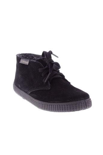 victoria boots homme de couleur noir