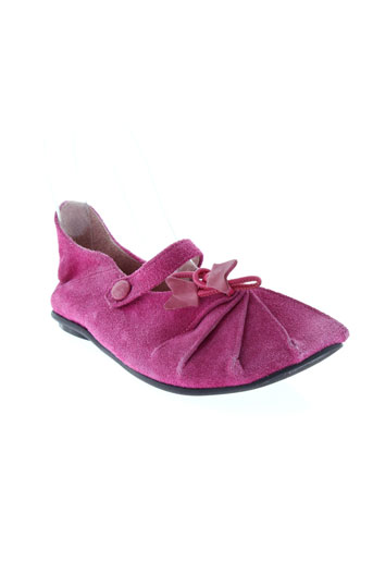 bill et tornade ballerines fille de couleur rose