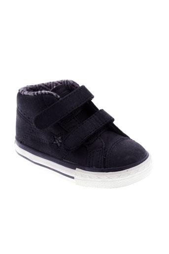 converse chaussures garçon de couleur noir