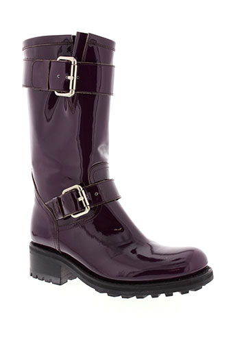 free et lance boots femme de couleur violet