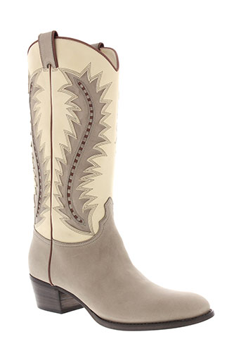 sartore bottes femme de couleur beige