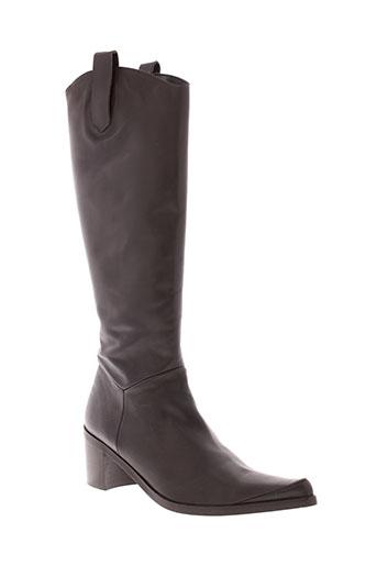 parallele bottes femme de couleur marron