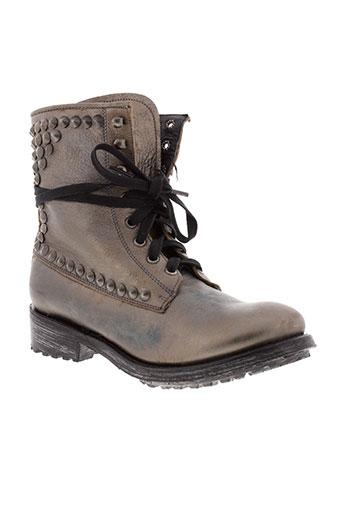 ash boots femme de couleur gris