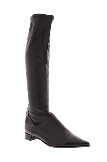 parallele bottes femme de couleur noir