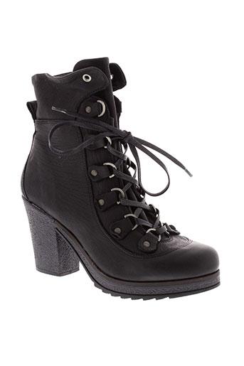 koah boots femme de couleur noir