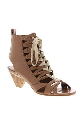 marc jacobs chaussures femme de couleur marron