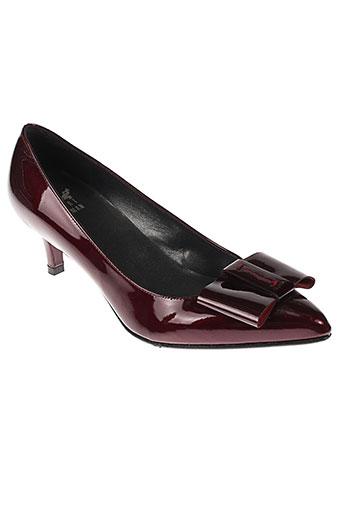 stuart weitzman chaussures femme de couleur rouge