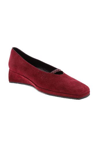 stephane kelian chaussures femme de couleur rouge