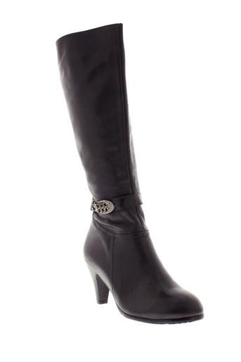 relax bottes femme de couleur noir