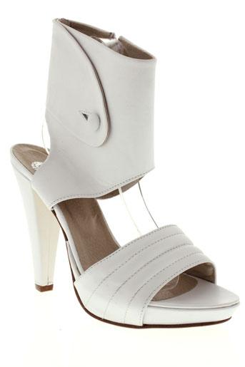vero et cuio sandales et nu et pieds femme de couleur blanc