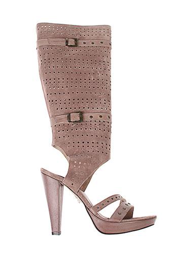 v m chaussures femme de couleur rose