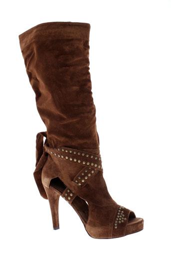 v m chaussures femme de couleur marron