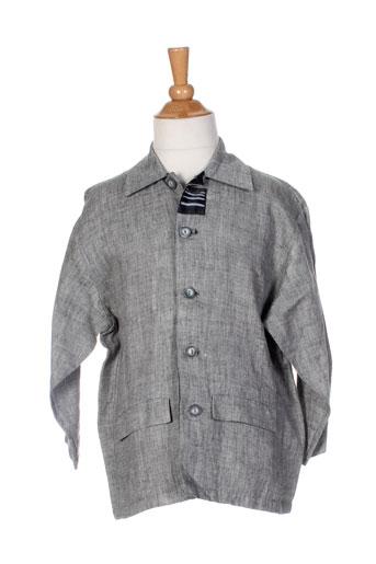 jean bourget vestes garçon de couleur gris