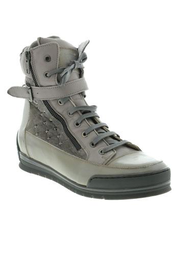 candice cooper chaussures femme de couleur gris