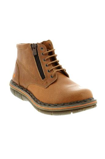 art chaussures femme de couleur marron