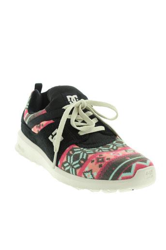 dc chaussures femme de couleur noir