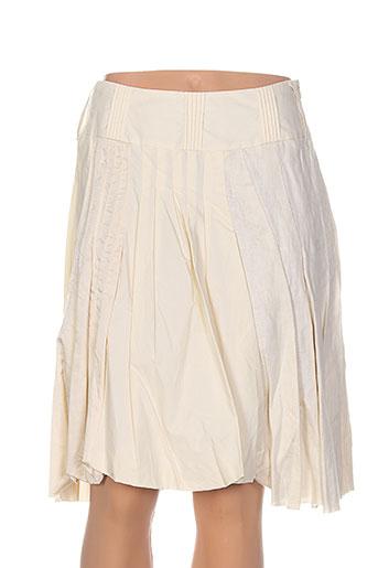 one step jupes femme de couleur beige
